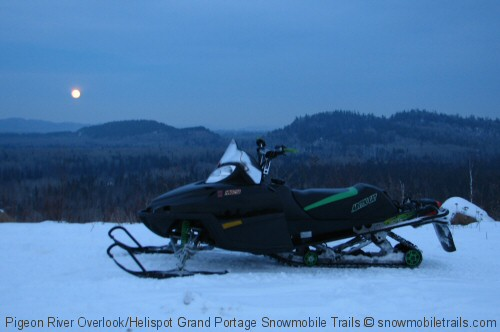 Grand Portage Snowmobile Trails